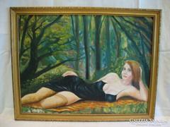 Erotikus töltetű festmény