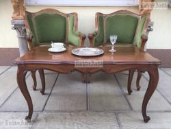 Antik bútor, Barokk dohányzóasztal.