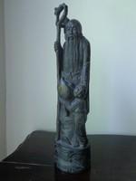 Ázsiai fa szobor