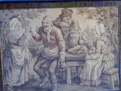 Antik gobelin