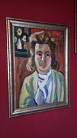 Németh Miklós , Nöi portré,  eredeti alkótás