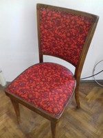 Szegecselt, kárpitos székek jó állapotban