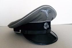 Waffen-SS tányérsapka tiszthelyettesi