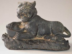 Régi bronz tigris
