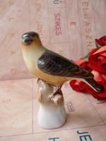Herendi porcelán fán ülő madárka