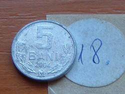 MOLDOVA  MOLDÁVIA 5 BANI 2004 18.