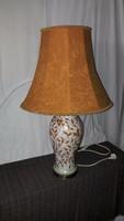 Hatalmas méretű és súlyú Zsolnay perzsamintás lámpa!