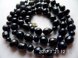 Fekete tahiti gyöngy lánc