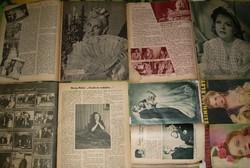 Mezey Mária rajongóinak régi újságok + Kassai, komáromi bevonulás militária