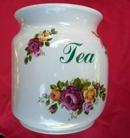 Angol rózsás fűszertartó doboz