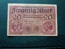 20 márka 1918 /1.