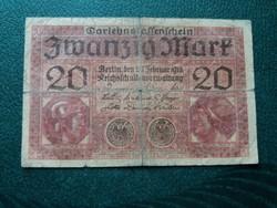 20 márka 1918 /2.