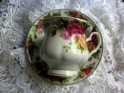Angol rózsás öblös csésze