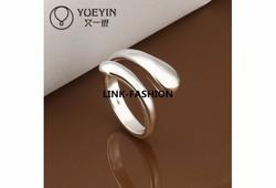 Modern fazonú gyűrű 7-es ÚJ!