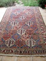 Antik nagyméretű kézi szőnyeg