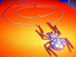 Óriás Pókocska vintage nyaklánc