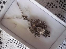 Antik ezüst nyaklánc