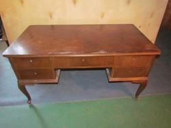 Antik neobarokk íróasztal