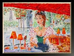 Hepp Natália: Párizsi kávézó