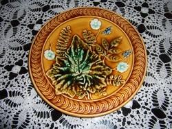 Steidl Znaim majolika süteményes tányér