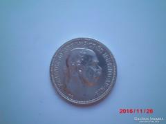 1 korona ezüst 1915!! Extra szép tartásban! Így ritka!!