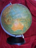 Földgömb. magassága 50 cm, sérült