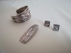Iparművész ezüst szett