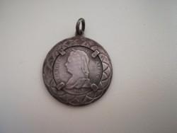 Mária Theresia ezüst medál