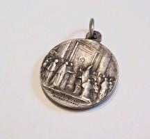 Antik ezüst medál