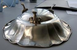 Ezüst kínáló tál, asztalközép - Dianás 800-as