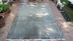 234x172 cm-es gyapjúszőnyeg gyapjú szőnyeg használt