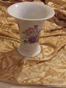 Régi  Zsolnay virágos váza