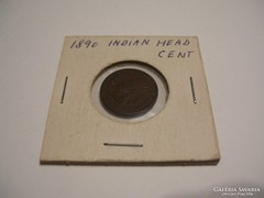 USA Indian Head Cent 1890