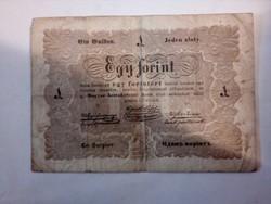 Ritka 1 forint Kossuth bankó