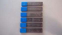 6 db MIKRO kapszula, benne 60 db 0,7 x 60 mm-es HB irónbetét, ceruza bél