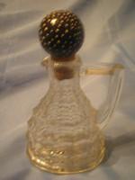 Fűszerolaj-ecet kiöntő üveg,jól záródó tetővel U3