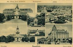 Nagykőrös, osztott, használt képeslap: 1942. augusztus 12.
