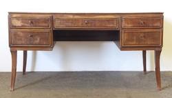 0N829 Régi art deco nagy méretű íróasztal 150 cm