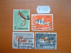 SZINGAPÚR SINGAPORE 2-10 C 1962 HALAK B416