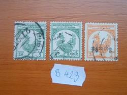 BURMA 3 DB 1952,1954,1949 Hamsa, mitikus madár B423
