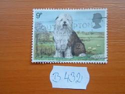 ANGOL ANGLIA 9 P 1979 Óangol juhászkutya (Canis lupus familiaris)  B432