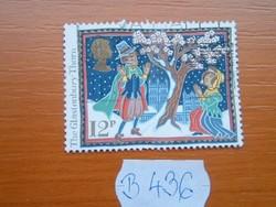 ANGOL ANGLIA 12 P 1986 KARÁCSONY B436