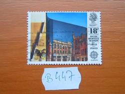 ANGOL ANGLIA 18 P 1987 Eurostamps - Modern Architecture  B447