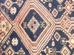Ritka !Beludzs kézi csomózott szőnyeg 30-40-es évek 280x180 cm !