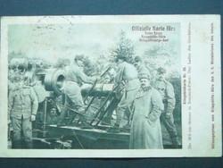 Katonai levelezőlap,1915.