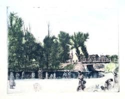 Varga Nándor Lajos: Mosónők a patak partján
