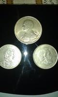 Három Ezüst Érme Egy áráért