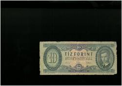 10 forintos papírpénz 1962-es