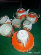 Antik orosz kávés (teás) készlet