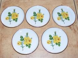 5 db Kaiser rózsás porcelán tálka